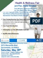 Community Health & Wellness Fair with Dr. Richard Pan