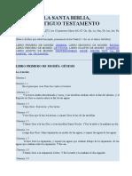 La Biblia - Ant. Test1. Gn, Ex, Lv, Nm, Dt, Jos, Jue, Rt, 1 s y 2 s