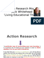 Action Research Model Jack Whitehead