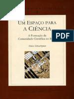 Simon A formaçao da comunidade científica no Brasil..pdf