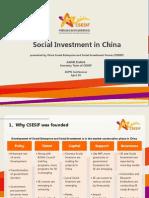 AVPN Country Session 1- China (Presentation)