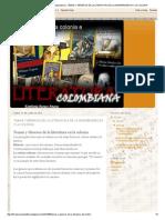 La Literatura en La Colonia e Independencia _ Temas y Géneros de La Literatura de La Independencia y La Colonia