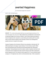 the extraverted happiness
