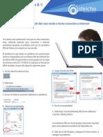 Error Conexion Infinitum y Windows8.1