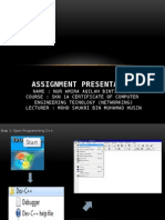 Assignment Presentation