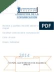 Principios de La Comunicación Monografia