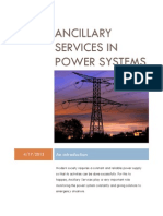 Ancillary Services in Power Systems