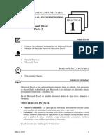 Práctica Nº 1 - Excel Parte I