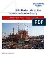 Sustainable Materials in Construction Industry Jan 2015