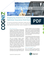 Employing Analytics to Automate and Optimize Insurance Distribution