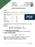 Dimensional Analysis 2nd Mech April 8 2015 2
