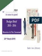 Budget Brief 2015 Final