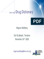 3 Who Drug Dictionary