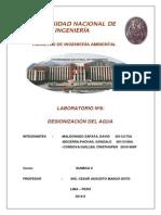 Informe Lab.6 Química IIInforme Lab.6 Química IIInforme Lab.6 Química IIInforme Lab.6 Química II