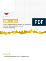 Stage 1 Guide - Sept 2014
