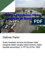 Kebutuhan Parkir kendaraan bermotor.ppt