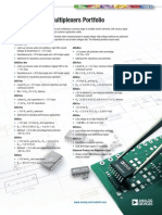 Switches Multiplexers Product Selection Guide