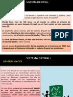 Exposicion - Sistema Drywall
