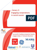 AVPN Plenary 3- Engaging Corporations in Social Causes