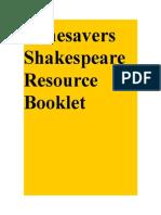 Shakespeare- Resources - Advancen