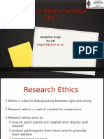 Research Ethics Seminar