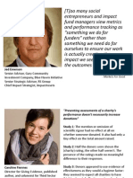 AVPN Impact Assessment- Making Evidence Work