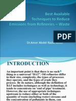 Reduce Refinary Emission