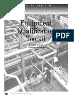 Equipment Qualification Toolkit