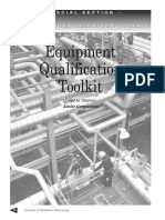 Equipment Qualification Toolkit