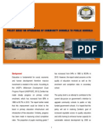 Policy Brief on Upgrading of Community Schools to Public Schools