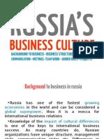 Russia's Business Culture
