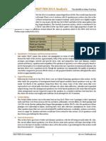 CMAT Feb 2014 Analysis