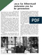150514 La Verdad CG- ERG Destaca La Libertad de Pensamiento en Su Entrega de Premios p.10
