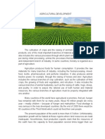 Agricultural Development