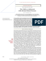 The Child or Adolescent With Elevated Blood Pressure