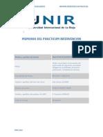 Informe Memoria de Practicas Unir
