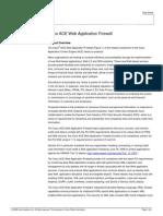 Cisco ACE Web Application Firewall