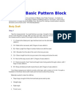 Draft a Basic Pattern Block.docx