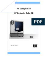 HP Designjet Color 3D printer (service manual).pdf