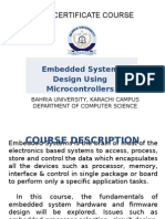 2_Embedded System Design Using Microcontrollers