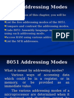 8051 Addressing Modes
