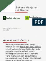 Panduan Sukses Assessment
