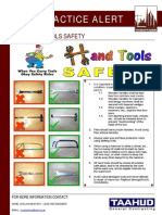 85 Bsu Best Practice Alert - Hand Tools Safety