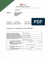 UK DR TOLM B011 TROC D MA 1001Rev 1 Transocean Well Control Procedures