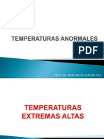 Temperaturas Anormales