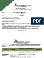 Planeacion Secundaria 2014-2015 Civica 1