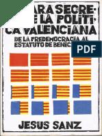 La Cara Secreta de La Política Valenciana