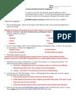 amazon rainforest internet assignment - fall 2014