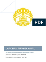 Laporan Proyek Awal Abdurohman Ilham Muharma SIAK