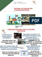 PONENCIA DEL Sistema Nacional de Evaluacion de La Calidad Educativa